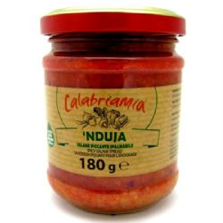 Nduja 180g | Spicy | Calabria | Jar | Buy Online | Italian Food | UK | Europe